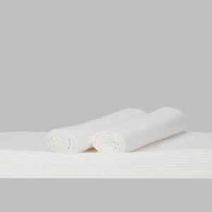 Ręcznik biały PREMIUM 80x40cm